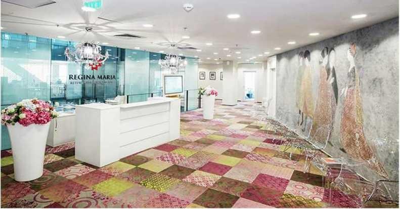 Proiect amenajari interioare Eclectarte - clinica Regina Maria Charles de Gaulle