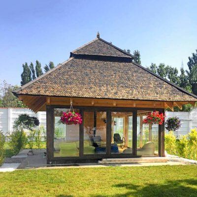 Proiect arhitectura Pavilion Snagov, realizat de echipa Eclectarte