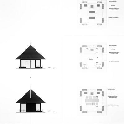 Plan proiect arhitectura Snagov, realizat de echipa Eclectarte