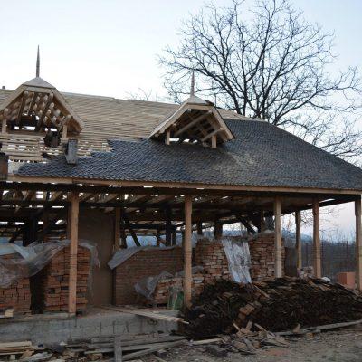 Proiect arhitectura casa taraneasca realizat de echipa Eclectarte