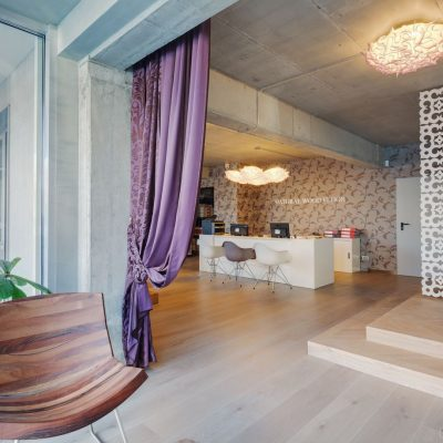 Natural Wood Floor design interior Eclectarte