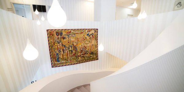 Proiect amenajari interioare clinica medicala Regina Maria Iasi realizat de Eclectarte