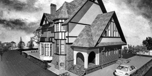 Propunere proiect arhitectura casa de vacanta realizat de Eclectarte