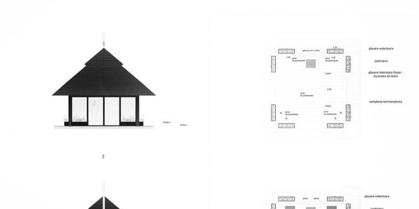 Pavilion Snagov, arhitectura realizata de Eclectarte