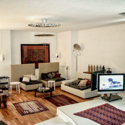 Proiect amenajari interioare locuinta privata realizat de Eclectarte