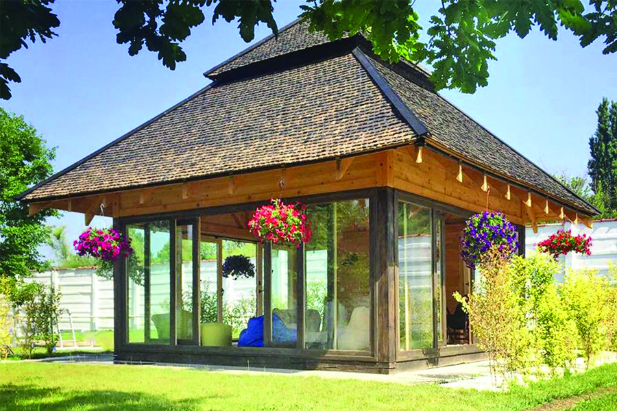Pavilion Snagiv - proiect arhitectura realizat de echipa Eclectarte